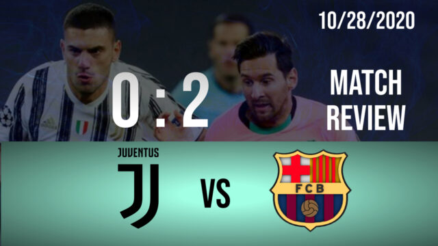 Football Match Riview Juventus-Vs-FCB