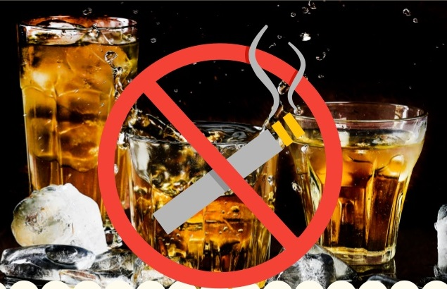 Quit Smoking and Drinks